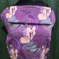 Integra Size 1 Mermaid And Unicorn Shorter Strap Baby Carrier