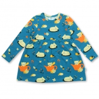 JNY Autumn Cat LS Body Dress