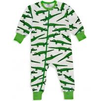 JNY Crocodile Zip Bodysuit