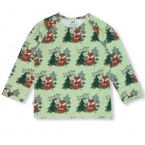 JNY Cuddling Foxes LS Shirt