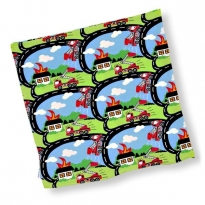 JNY Fire Truck Cushion Cover