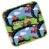 JNY Fire Truck 2 Pack Cloths