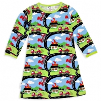 JNY Fire Truck LS Dress