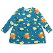 JNY Autumn Cat LS Sweet Dress
