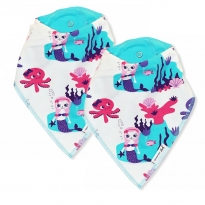 JNY Mermaid 2 Pack Bib