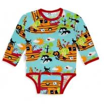 JNY Noah's Ark LS Bodysuit