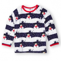 JNY Snowman LS Shirt