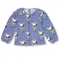 JNY Skating Bunny Puffy LS Shirt
