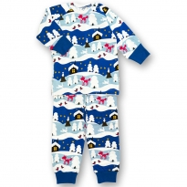 JNY Snowy Cottage 2-Piece Pyjamas