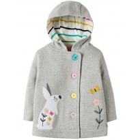 Frugi Bunny Cosy Button Up Jacket