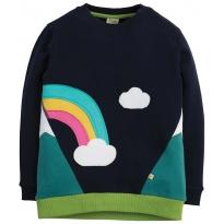 Frugi Rainbow Summit Sweatshirt