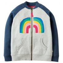 Frugi Rainbow Rosa Raglan Jacket
