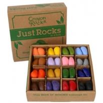 Crayon Rocks Just Rocks in a Box