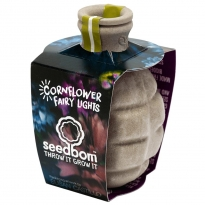 Kabloom Cornflower Fairy Lights Seedbom
