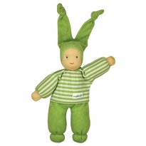 Keptin-Jr Green Organic Rag Doll
