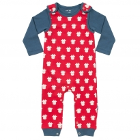 Kite Cow Dungaree Set