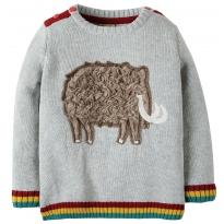 Frugi Cosy Grey Mammoth Jumper