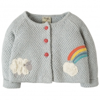 My First Frugi Lamb Button Cardigan