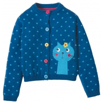 Frugi Cat Little Betsy Cardigan