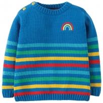Frugi Rainbow Jack Knitted Jumper