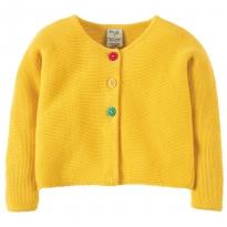 Frugi Yellow Ceira Cardigan