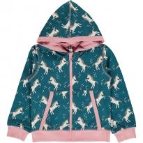 Maxomorra Unicorn Dreams Zip Hoody