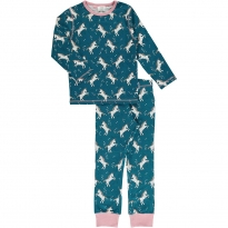 Maxomorra Unicorn Dreams LS Pyjamas