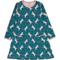 Maxomorra Unicorn Dreams LS Dress