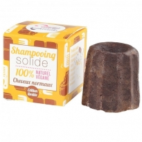 Lamazuna Solid Shampoo Normal Hair - Chocolate
