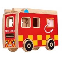 Lanka Kade Fire Engine & 3 People