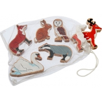 Lanka Kade Countryside Animals - Bag of 6