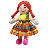 Lanka Kade Girl Doll - White Skin, Red Hair