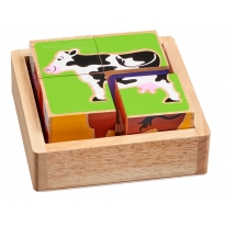 Lanka Kade Farm Animals Block Puzzle