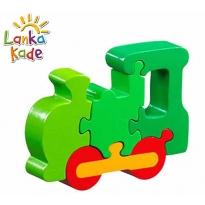 Lanka Kade Green Train Jigsaw