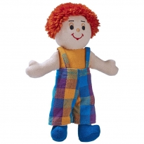 Lanka Kade Boy Doll - White Skin, Red Hair