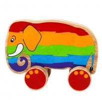 Lanka Kade Rainbow Elephant Push Along