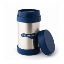 Large Insulated Food Jar - Navy - 470ml