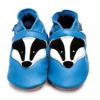 Inch Blue Badger Blue Shoes