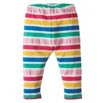 Frugi Multi Stripe Little Libby Leggings