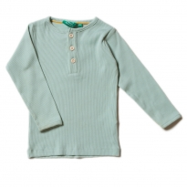 LGR Alpine Green Rib LS Top