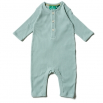 LGR Alpine Green Rib Play Suit
