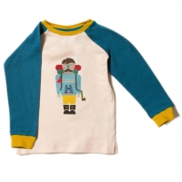 LGR Climb The Mountain Teal Raglan Top