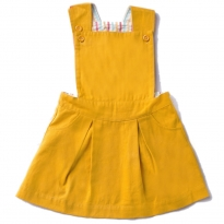 LGR Gold Pinafore Dress