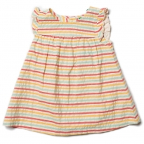 LGR Sunset Stripe Frill Dress