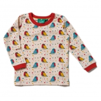 LGR Rainbow Robins LS Top