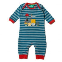 LGR Sky Train Applique Play Suit