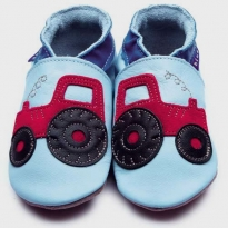 Inch Blue Light Blue Tractor Shoes