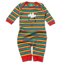 LGR Falling Water Applique Playsuit