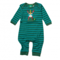 LGR Nordic Vikings Applique Playsuit