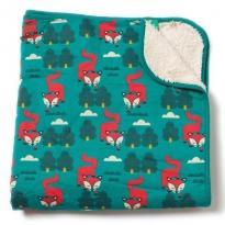 LGR Winter Fox Sherpa Blanket